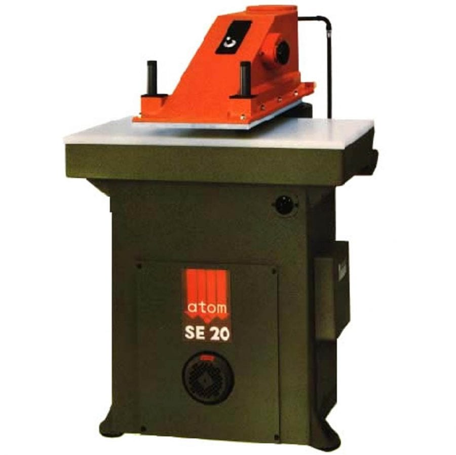 Atom SE Series: Oildynamic Clicking Die Cutting Press With Turning Arm