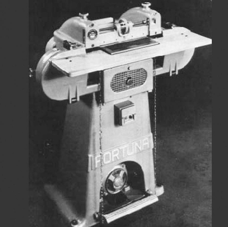 Fortuna Model 620: 12″ Bandknife Splitting Machine