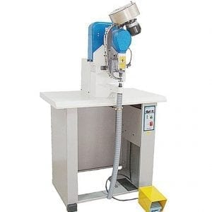 "Jopevi J-237: Electronic Single Feed ""Shuttle"" Automatic Grommet Machine"